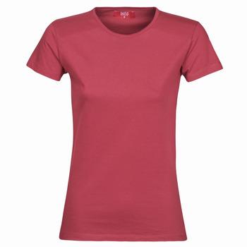 Oblačila Ženske Majice s kratkimi rokavi BOTD MATILDA Bordo