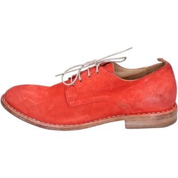 Čevlji  Ženske Čevlji Derby Moma BR966 Rdeča