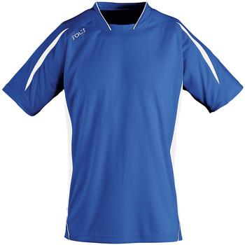Oblačila Moški Majice s kratkimi rokavi Sols MARACANA 2 SSL SPORT Azul