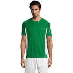 Oblačila Moški Majice s kratkimi rokavi Sols MARACANA 2 SSL SPORT Verde