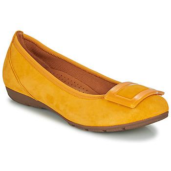 Čevlji  Ženske Balerinke Gabor KASTIPON Rumena