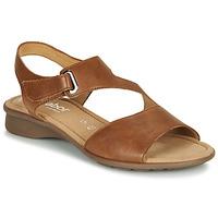 Čevlji  Ženske Sandali & Odprti čevlji Gabor KESTE Cognac