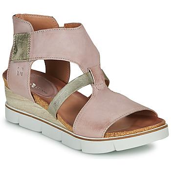 Čevlji  Ženske Sandali & Odprti čevlji Dream in Green LIRATIMO Rožnata