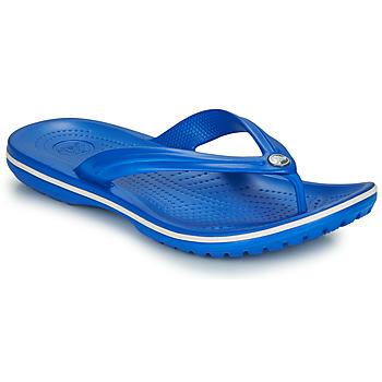 Čevlji  Japonke Crocs CROCBAND FLIP Modra