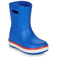 Čevlji  Otroci škornji za dež  Crocs CROCBAND RAIN BOOT K Modra / Rdeča