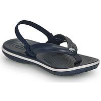 Čevlji  Otroci Japonke Crocs CROCBAND STRAP FLIP K Modra