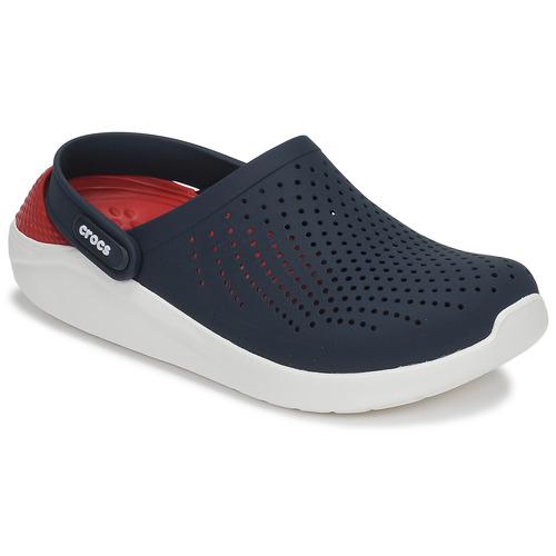 Čevlji  Cokli Crocs LITERIDE CLOG Rdeča