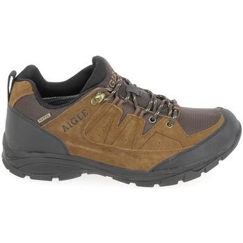 Čevlji  Moški Pohodništvo Aigle Vedur Low MTD Marron Kostanjeva