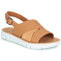 Čevlji  Ženske Sandali & Odprti čevlji Camper TWINS Nude / Bela