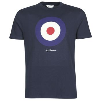 Oblačila Moški Majice s kratkimi rokavi Ben Sherman SIGNATURE TARGET TEE Modra