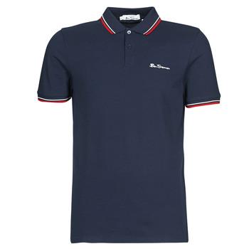 Oblačila Moški Polo majice kratki rokavi Ben Sherman SIGNATURE POLO Rdeča / Bela