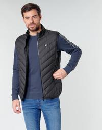 Oblačila Moški Puhovke Emporio Armani EA7 TRAIN CORE SHIELD M DOWN LIGHT VEST Črna