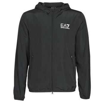 Oblačila Moški Vetrovke Emporio Armani EA7 TRAIN CORE ID M JACKET Črna