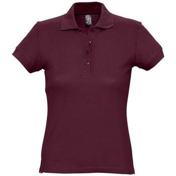 Oblačila Ženske Polo majice kratki rokavi Sols PASSION WOMEN COLORS Violeta