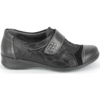 Čevlji  Čevlji Derby & Čevlji Richelieu Boissy Derby 7510 Noir Texturé Črna