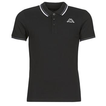 Oblačila Moški Polo majice kratki rokavi Kappa ESMO Črna