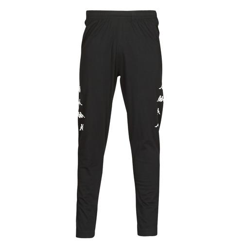 Oblačila Moški Spodnji deli trenirke  Kappa KOLRIK Črna