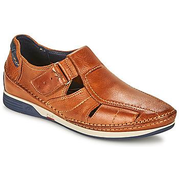 Čevlji  Moški Sandali & Odprti čevlji Fluchos JAMES Kostanjeva / Rdeča
