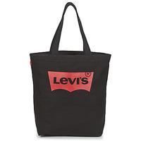 Torbice Ženske Nakupovalne torbe Levi's BATWING TOTE Črna