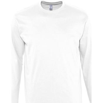 Oblačila Moški Majice z dolgimi rokavi Sols MONARCH COLORS MEN Blanco