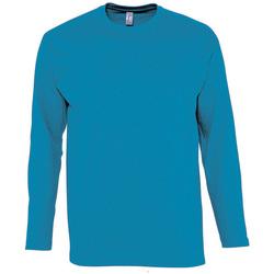 Oblačila Moški Majice z dolgimi rokavi Sols MONARCH COLORS MEN Azul