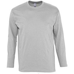 Oblačila Moški Majice z dolgimi rokavi Sols MONARCH COLORS MEN Gris
