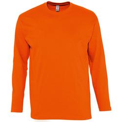 Oblačila Moški Majice z dolgimi rokavi Sols MONARCH COLORS MEN Naranja