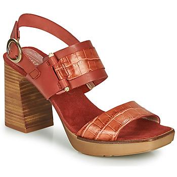 Čevlji  Ženske Sandali & Odprti čevlji Hispanitas PETRA Kostanjeva