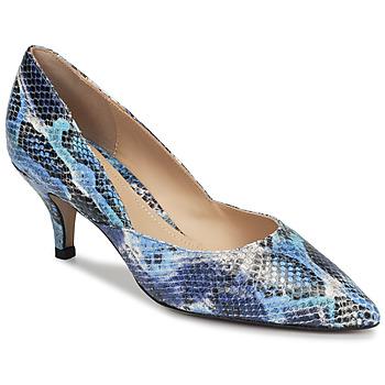 Čevlji  Ženske Salonarji Perlato MOLI Modra