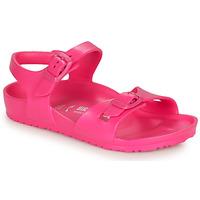 Čevlji  Deklice Sandali & Odprti čevlji Birkenstock RIO EVA Pink