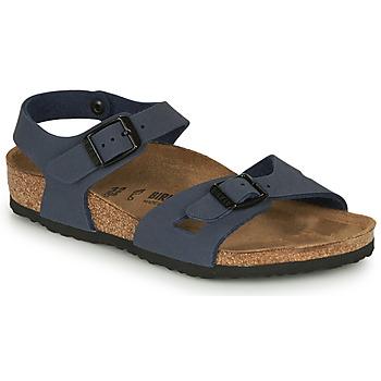 Čevlji  Otroci Sandali & Odprti čevlji Birkenstock RIO Modra