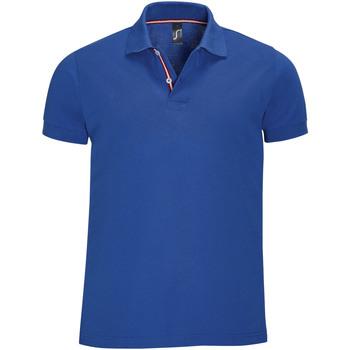 Oblačila Moški Polo majice kratki rokavi Sols PATRIOT FASHION MEN Azul