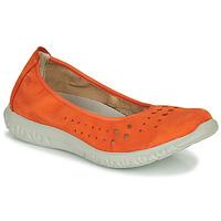 Čevlji  Ženske Balerinke Dorking SILVER Oranžna