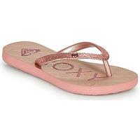 Čevlji  Deklice Japonke Roxy VIVA GLTR III Rožnata