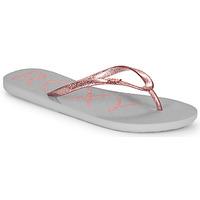 Čevlji  Ženske Japonke Roxy VIVA SPARKLE Siva / Rožnata