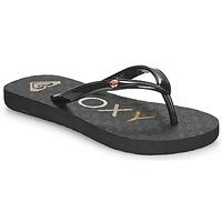 Čevlji  Deklice Japonke Roxy SANDY III Črna