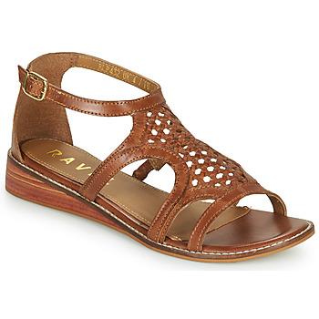 Čevlji  Ženske Sandali & Odprti čevlji Ravel CARDWELL Tan