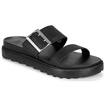 Čevlji  Ženske Sandali & Odprti čevlji Sorel ROAMING BUCKLE SLIDE Črna