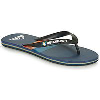 Čevlji  Moški Japonke Quiksilver MOLOKAI SEASONS Črna / Modra / Oranžna