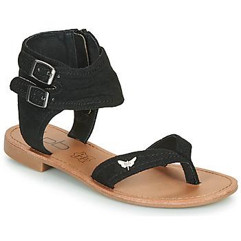 Čevlji  Ženske Sandali & Odprti čevlji Les Petites Bombes VALENTINE Črna