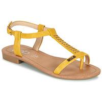 Čevlji  Ženske Sandali & Odprti čevlji Les Petites Bombes EMILIE Gorčica