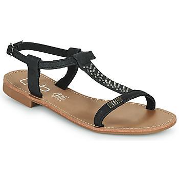 Čevlji  Ženske Sandali & Odprti čevlji Les Petites Bombes EMILIE Črna