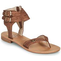 Čevlji  Ženske Sandali & Odprti čevlji Les Petites Bombes CAMEL Kamel
