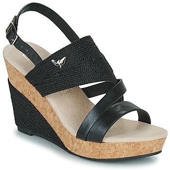 Čevlji  Ženske Sandali & Odprti čevlji Les Petites Bombes MELINE Črna
