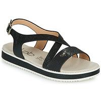 Čevlji  Ženske Sandali & Odprti čevlji Les Petites Bombes MARIA Črna