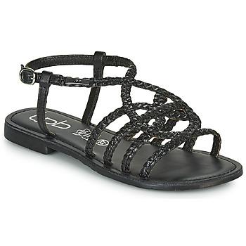 Čevlji  Ženske Sandali & Odprti čevlji Les Petites Bombes ARIA Črna