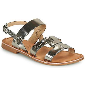 Čevlji  Ženske Sandali & Odprti čevlji Les Petites Bombes BRANDY Srebrna