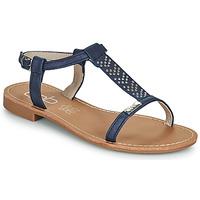Čevlji  Ženske Sandali & Odprti čevlji Les Petites Bombes EMILIE Modra