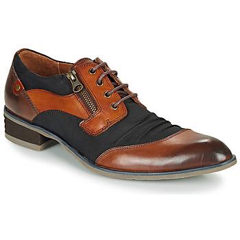 Čevlji  Moški Čevlji Derby Kdopa MONTMARTRE Kostanjeva