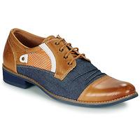 Čevlji  Moški Čevlji Derby Kdopa JONES Kamel / Modra